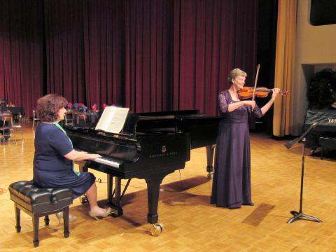 Violinist Lois Owsley and pianist Dr. Carol Ann Barry, NCTM.JPG